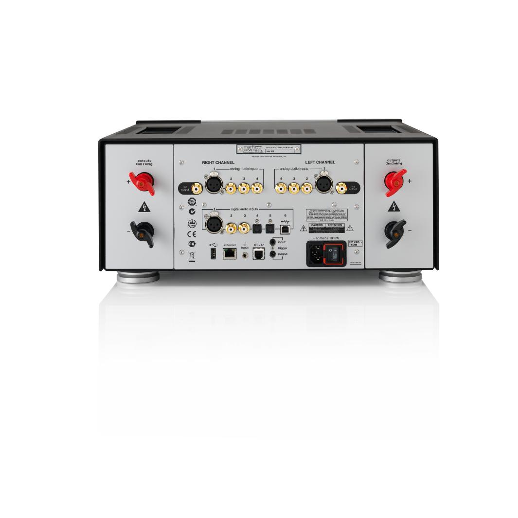 Nº585 - Black - Fully Discrete Integrated Amplifier - Back