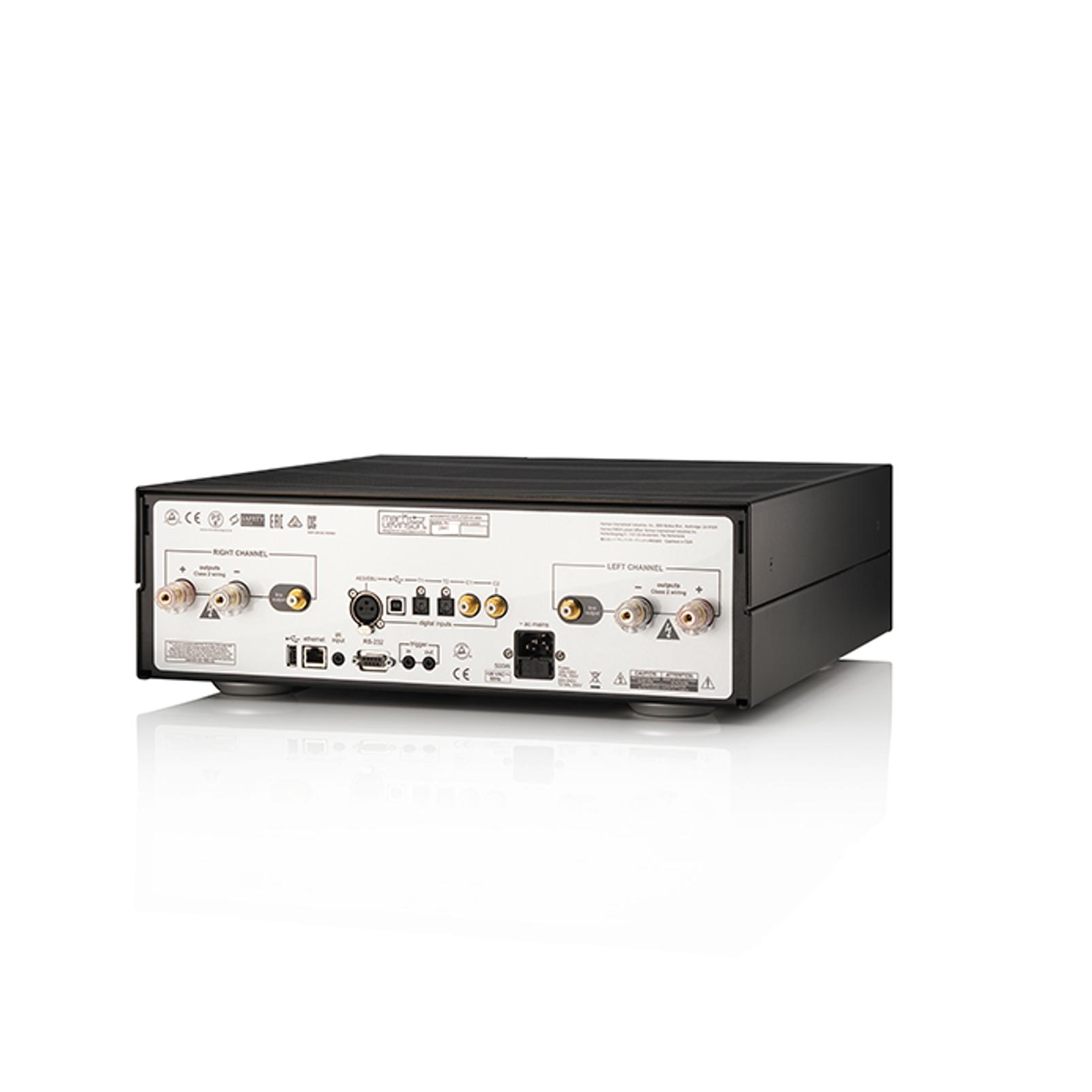 № 5802 - Black / Silver - Integrated Amplifier for Digital sources - Detailshot 1