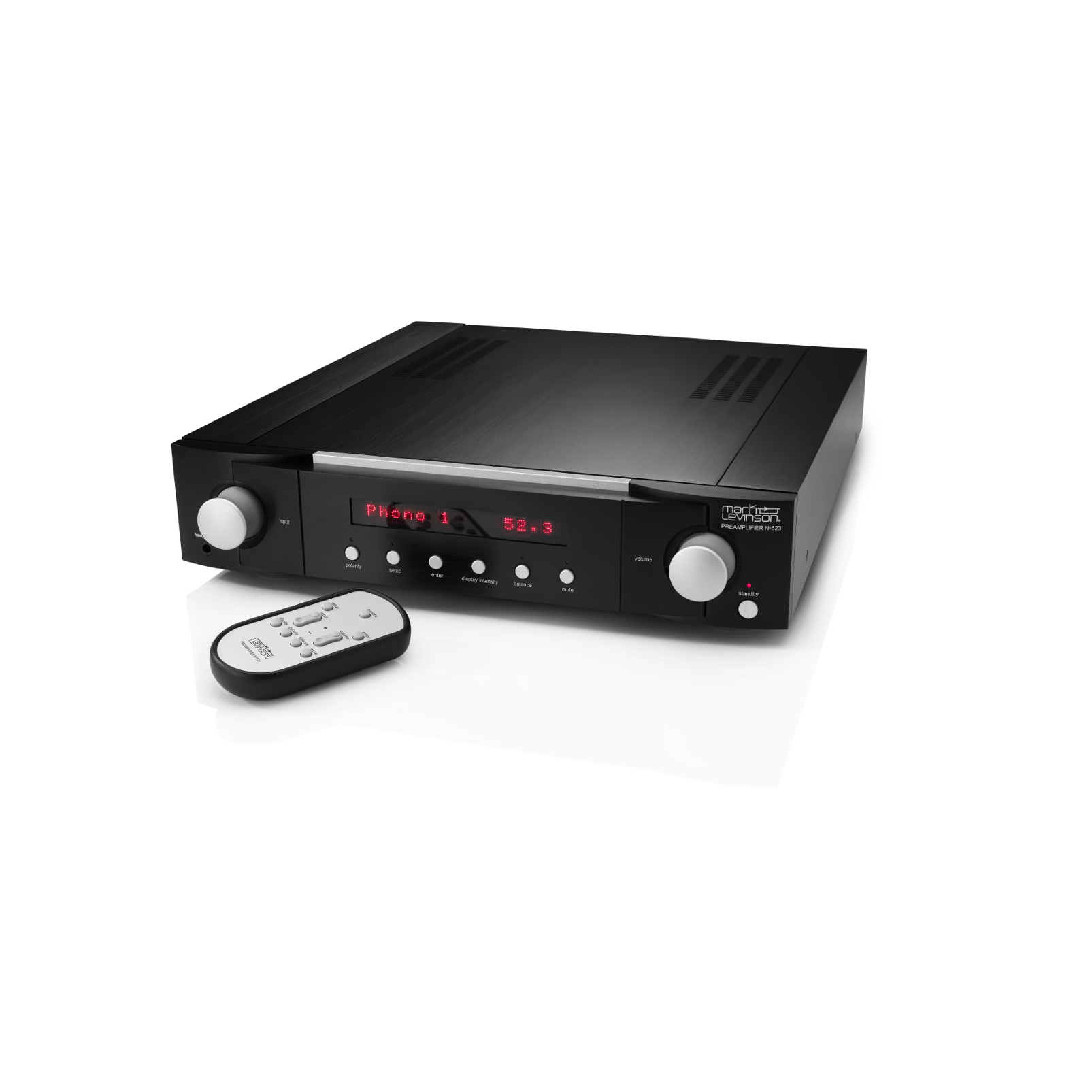 № 523 - Black - Dual-Monaural Preamplifier for Analog Sources - Hero