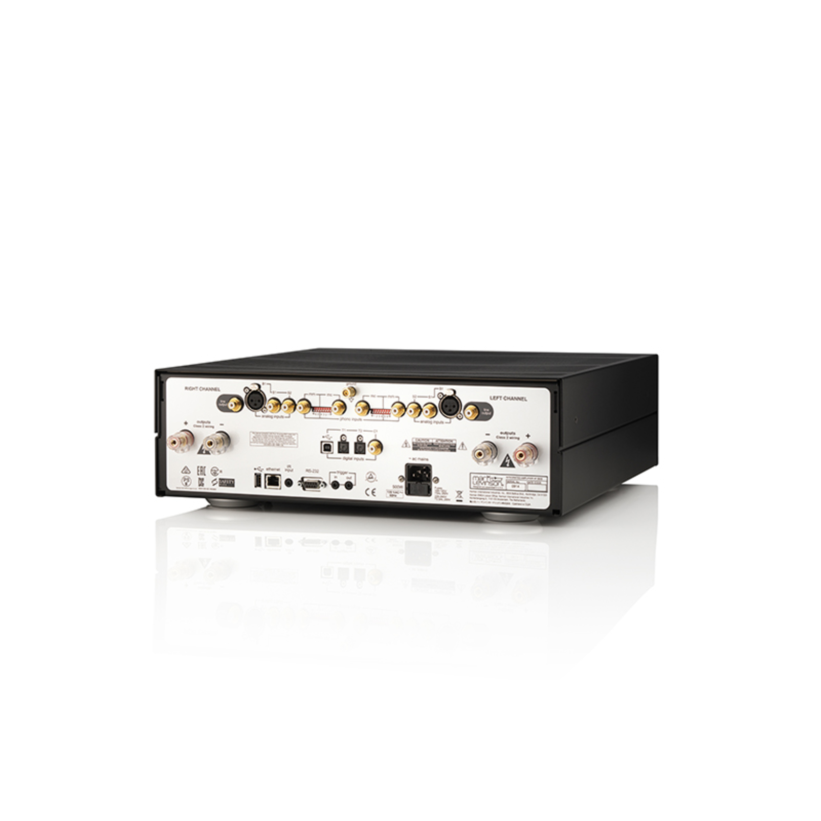 № 5805 - Black / Silver - Integrated Amplifier for Digital and Analog sources - Back