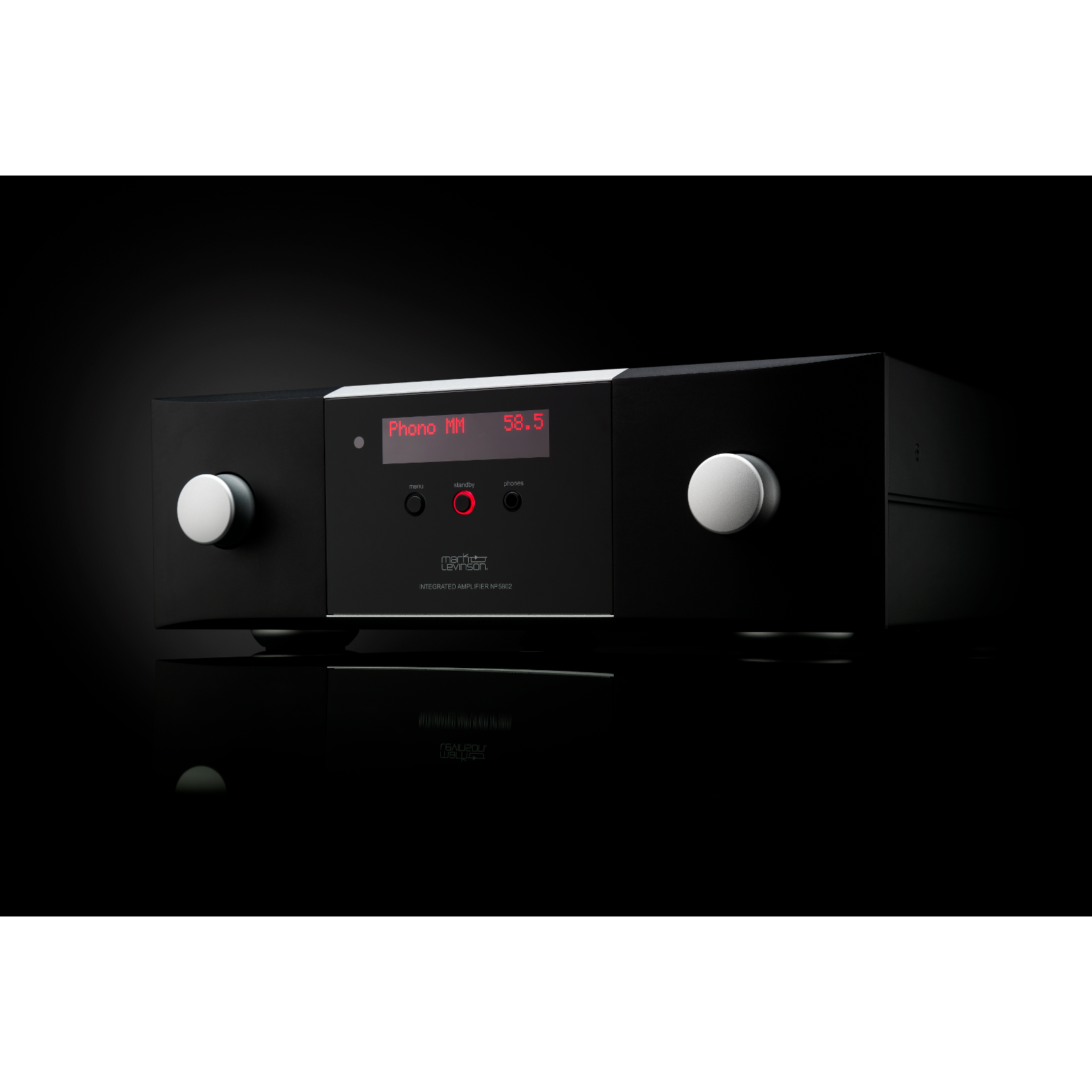 № 5805 - Black / Silver - Integrated Amplifier for Digital and Analog sources - Hero