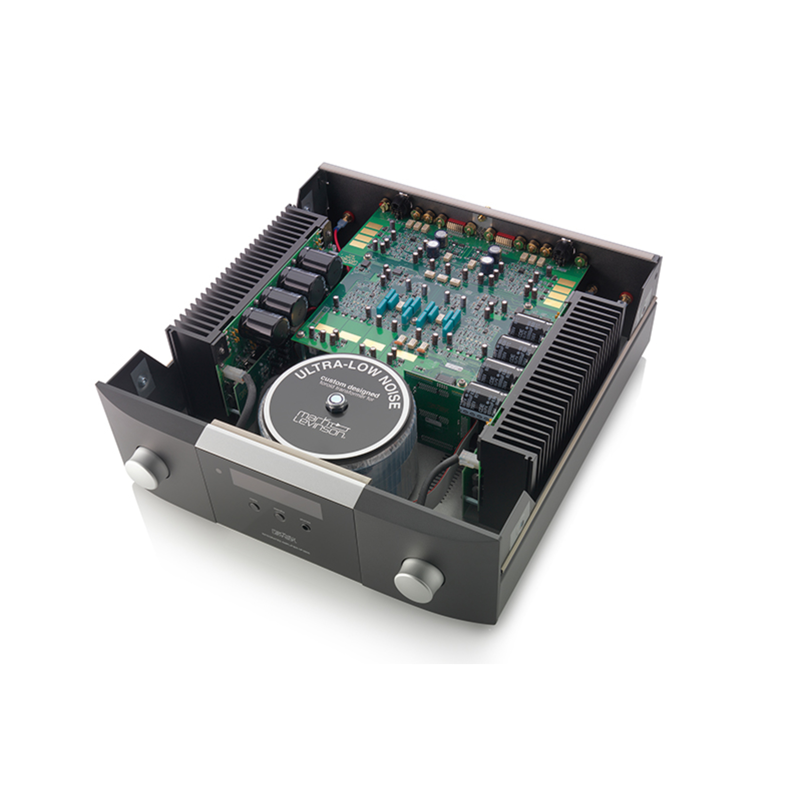 № 5805 - Black / Silver - Integrated Amplifier for Digital and Analog sources - Detailshot 1