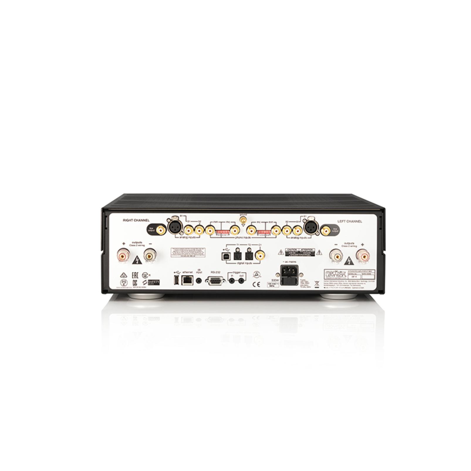 № 5805 - Black / Silver - Integrated Amplifier for Digital and Analog sources - Detailshot 2