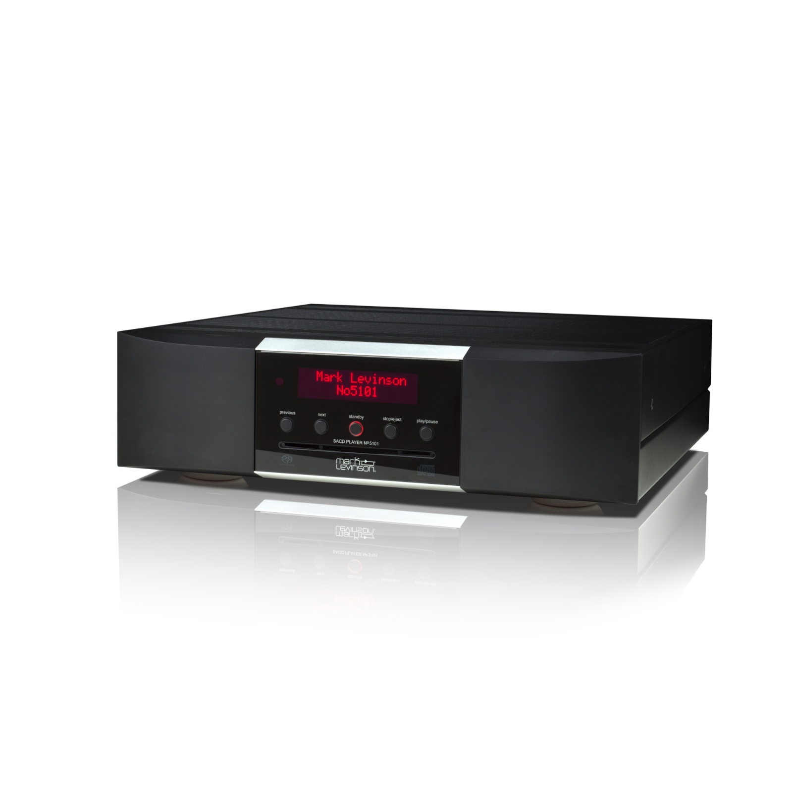 № 5101 - Black - Network Streaming SACD Player and DAC - Hero