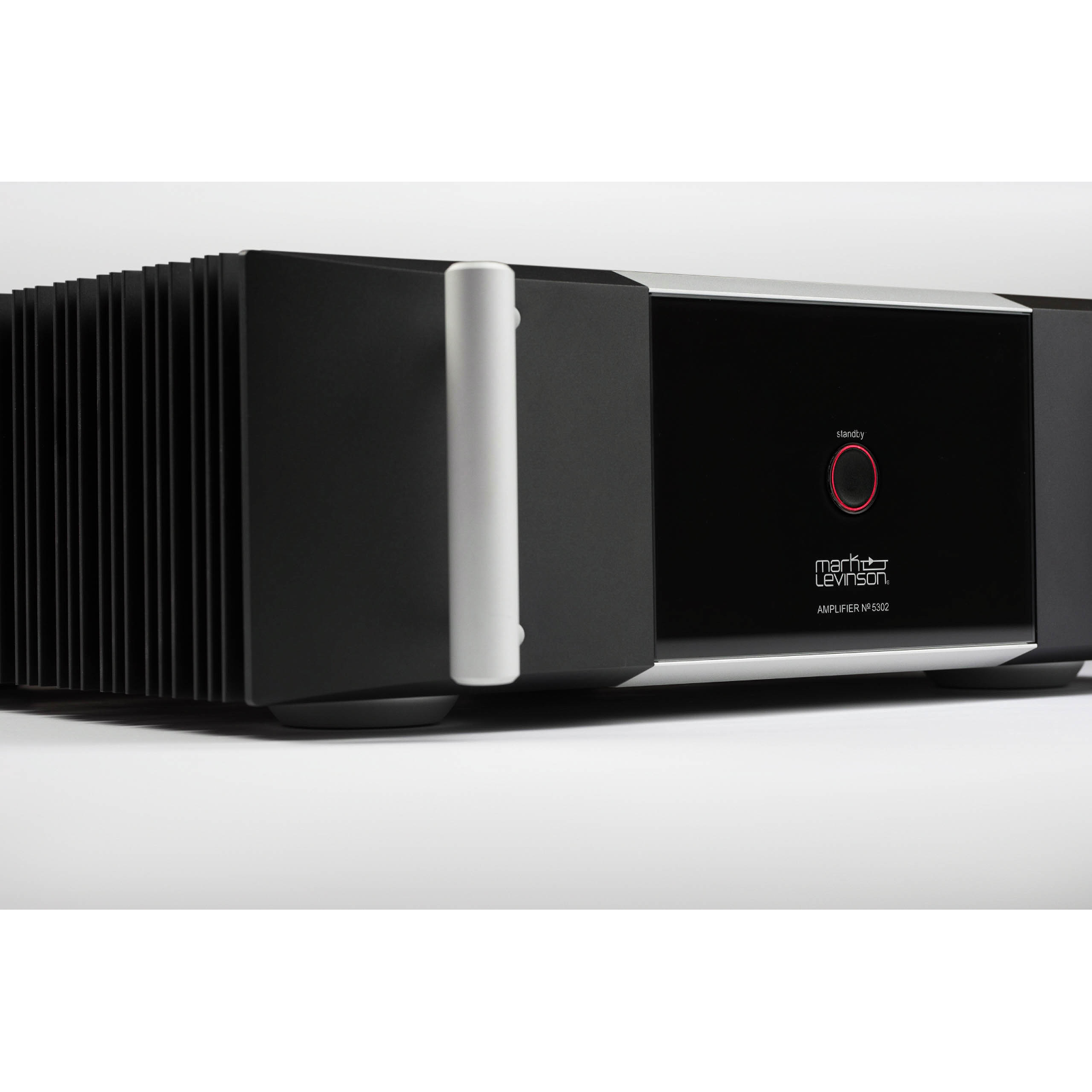 №5302 - Black - Fully-discrete, direct-coupled, dual-monaural, Class AB amplifier - Right