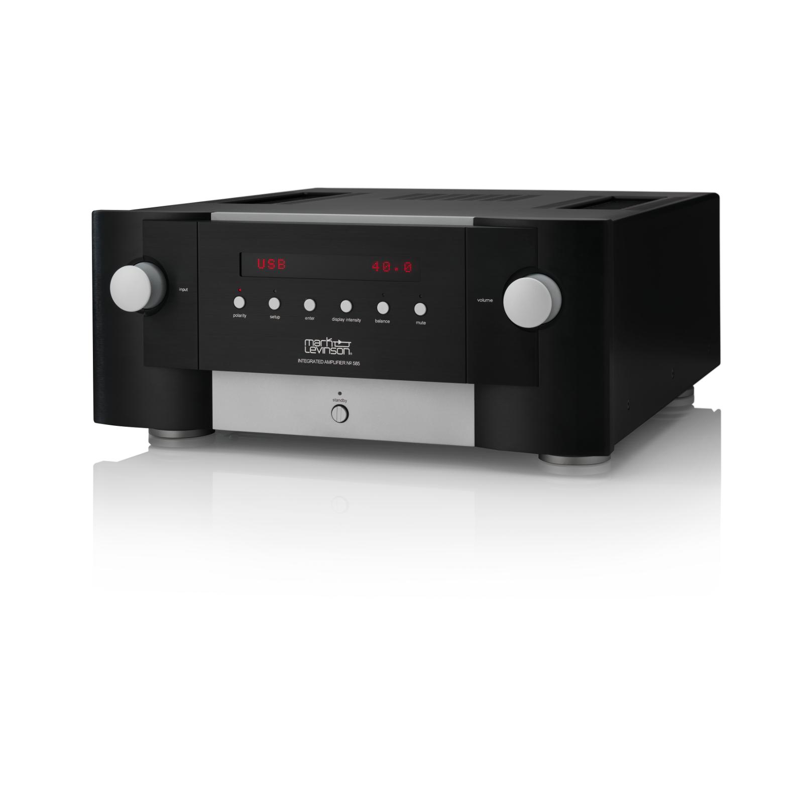 Nº585 - Black - Fully Discrete Integrated Amplifier - Hero