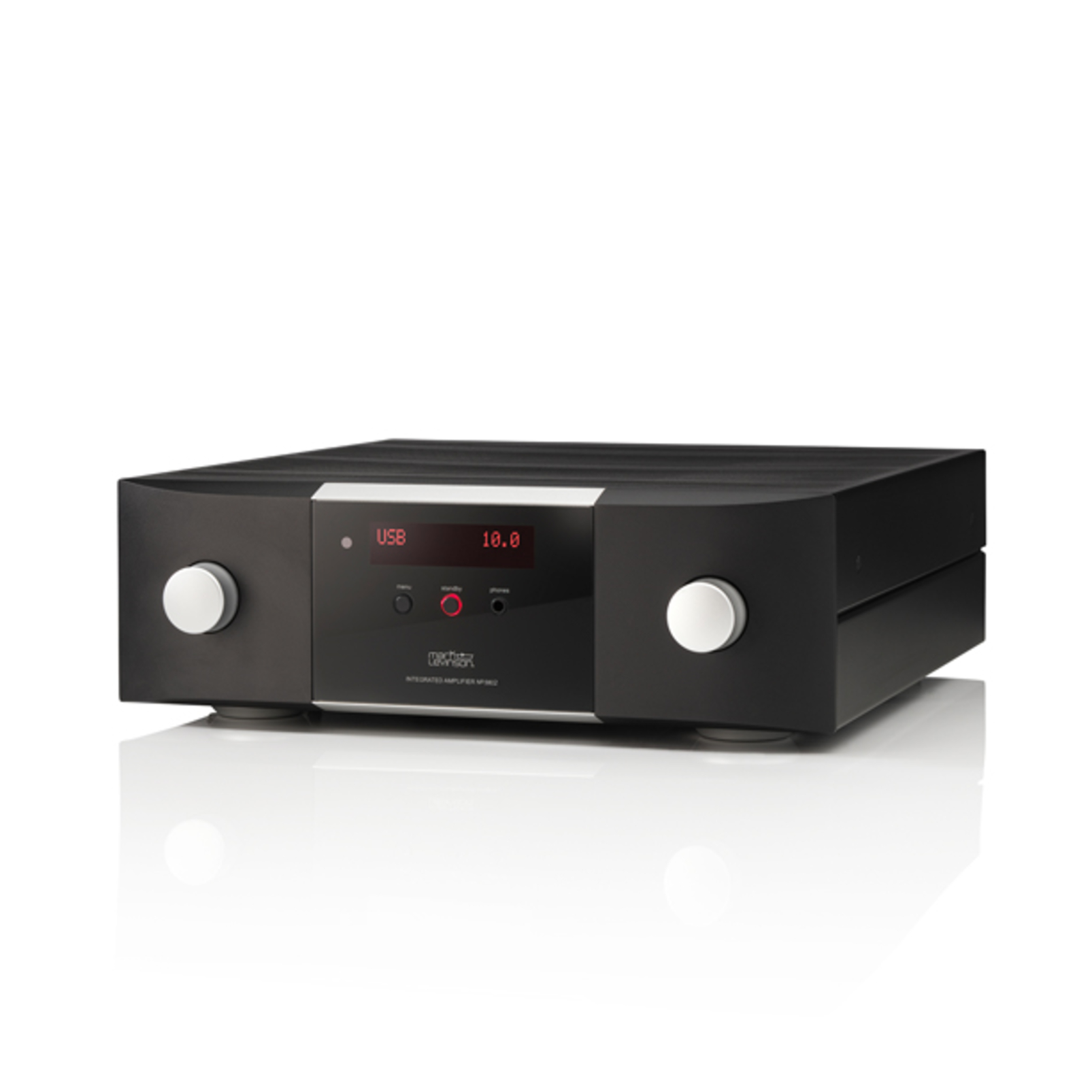 № 5802 - Black / Silver - Integrated Amplifier for Digital sources - Front